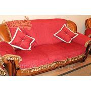 Чехол на диван на подкладке фото