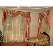 Пошив штор и чехлов для мебели фото