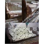 Мебельный чехол на диван фото
