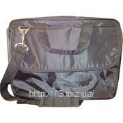 П4039 Портфель для документации через плечо (нейлон). | Пошив на заказ | Нанесение логотипа фото