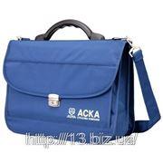М63 Портфель для документации деловой через плечо. | Пошив на заказ | Нанесение логотипа фото