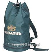Р115-2 Рюкзак со шнурками и секцией снизу. | Пошив на заказ | Нанесение логотипа фото