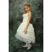 Детское выпускное платье фотография