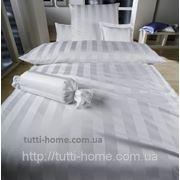 Постельное белье индивидуальный пошив, сатин, однотонный белый фото