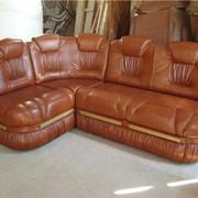 Перетяжка диванов. Ремонт, перетяжка кожаной мебели. Новый дизайн. фото
