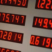 Электронное табло курсов обмена валют фото