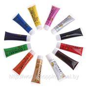 Набор акриловых красок для росписи 12 цветов (22 мл.). фото