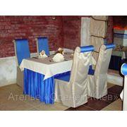 Ресторанный текстиль: пошив скатерти, салфетки, шторы, занавеси, ламбрекены фото