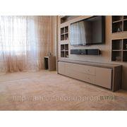 Натуральный ковер в гостиную Siena крем фото