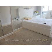 Натуральный ковер в гостиную Siena светло-серый фото