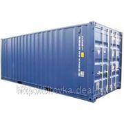 Морской контейнер 20 футов фото
