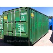 """Морской контейнер 20""""(б/у) фото"""
