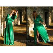 Платье с разрезом фото