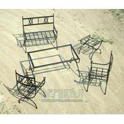 Кованые лавочки мебель кованая на заказ услуги кузнецов. Лавочки для парков кованые. фото