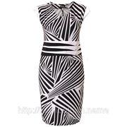 Платье зебра фото