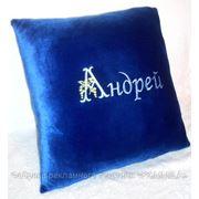 Подушки с автологотипом, сувенирные подушки, подушки с фото фото