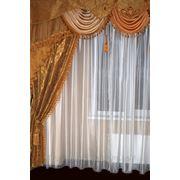 Пошив штор в Киеве, гардины для гостиной, шторы гардины жалюзи, гардины и ламбрекены фото