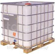Емкости кубические 640 литров на деревянном поддоне фото