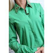 Рубашка воротник с шыпами фото