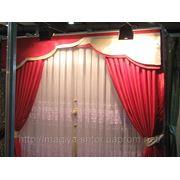 Ламбрекен на бандо 3м, шторы, гардина фото