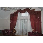 Пошив штор на заказ в Киеве арт.16 фото