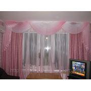 Легкие шторы в спальню фото