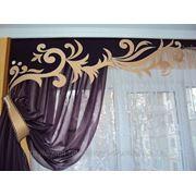 Дизайн пошив штор фото