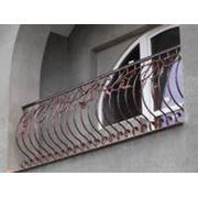 Кований балкон фото