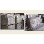 Пенобетонный блок. Применяется в качестве строительного материала. Обладает высокими теплоизолирующими показателями. Выпускается в двух стандартизированых размерах: 600х300х200 мм и 600х300х100 мм. фото