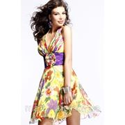Летнее платье ( мини) фото