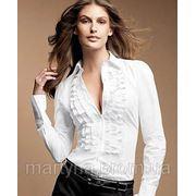 Блуза с рюшами фото