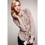 Блузка с воланами фото