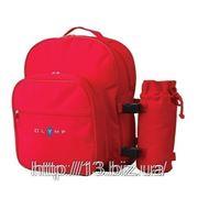 Р101 Футляр для бутылки с рюкзаком | Пошив на заказ | Нанесение логотипа фото