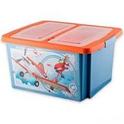 """Ящик для игрушек Полимербыт """"DISNEY"""" С48055-48077 30 литров фото"""
