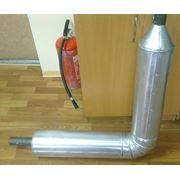 Трубы теплоизолированные в СПИРО оболочке фото