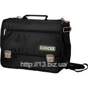 П37 Сумка для ноутбуков через плечо с замками. | Пошив на заказ | Нанесение логотипа фото