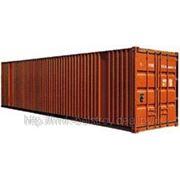Морской контейнер 40 футов highcube б/у фото