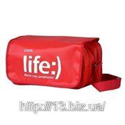 М1530 Сумка для путешествий наплечная с липучкой. | Пошив на заказ | Нанесение логотипа фото