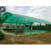 Поликарбонат сотовый Санлайт (ТМ Sunlite) 10мм Зелёный, Киев фото