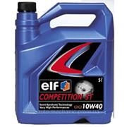Моторное масло ELF Competition STI 10W40 (5 Liter) фото
