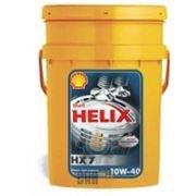Shell Helix HX7 10W40 налив фото