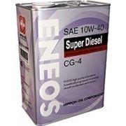 Моторное масло Eneos Super Diesel CG-4 10w-40 4л фото