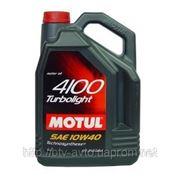 Motul 4100 Turbolight 10W-40 5L фото