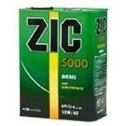 Моторное масло ZIC 5000 Diesel 10w-40 1л. купить моторное масло фото