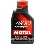 Motul 4100 Turbolight 10W-40 1L фото