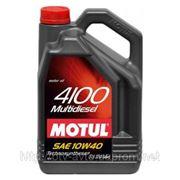 Motul 4100 Multidiesel 10W-40 5L фото