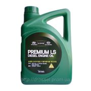Оригинальное моторное масло Kia / Hyundai Premium LS Diesel SAE 5w30 CH-4 4л (1л) 05200-00411 (05200-00111) фото