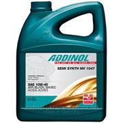 Полусинтетическое моторное масло ADDINOL Semi Synth MV1047 4л. (SAE: 10W-40) фото