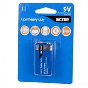 Аккумуляторы Acme Batteries 9V Super Heavy Duty 6F22/1pcs фото