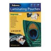 Плёнка для ламинирования Fellowes (FS-53511) A4, 100мкм / 100л фото